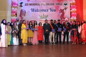 Fresher party – Science Department – 16-01-2021