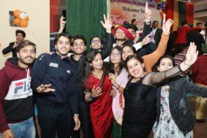 Fresher party- MA-BA-BMC Departments – 17/01/2021