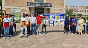 'Run for Unity' organized at JCD Memorial College – 26/08/2021